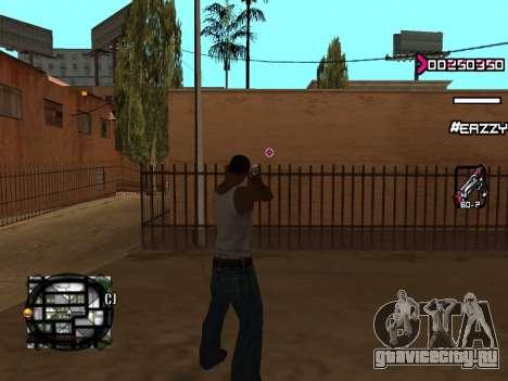 C-HUD WanTed для GTA San Andreas