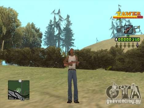 С-HUD by D.Strap для GTA San Andreas четвёртый скриншот
