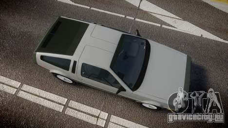 DeLorean DMC-12 [Final] для GTA 4 вид справа