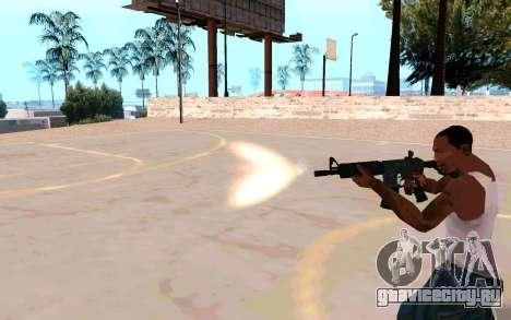 M4A1 (Dodgers) для GTA San Andreas пятый скриншот