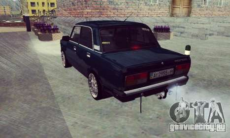 ВАЗ 2107 Seven-ty для GTA San Andreas
