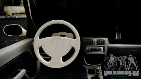 Renault Clio для GTA San Andreas вид справа