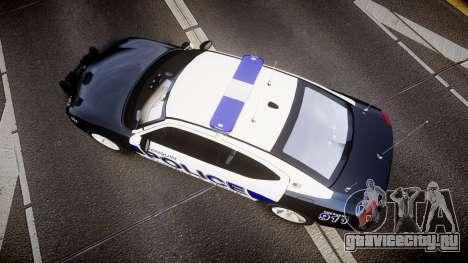 Dodge Charger 2006 Algonquin Police [ELS] для GTA 4 вид справа