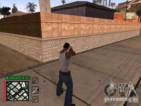 Classic C-HUD 3.4 by Niko для GTA San Andreas второй скриншот