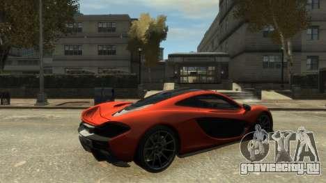McLaren P1 2013 [EPM] для GTA 4 вид слева