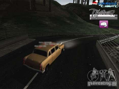 C-HUD TAWER by Vitya для GTA San Andreas
