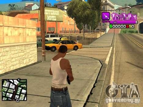C-HUD Ballas by Inovator для GTA San Andreas второй скриншот