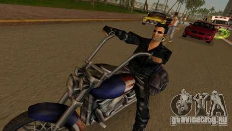 Tommi Black Skin для GTA Vice City