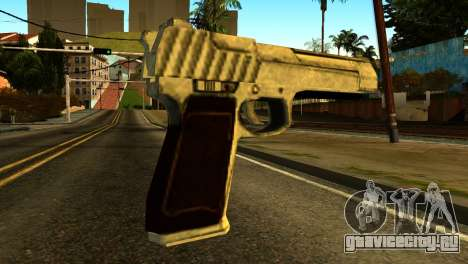 Desert Eagle from GTA 5 для GTA San Andreas второй скриншот