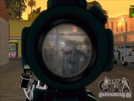 Sniper Skope Mod FIX для GTA San Andreas третий скриншот