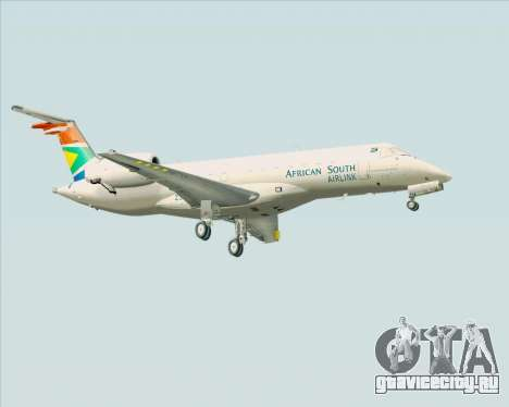 Embraer ERJ-135 South African Airlink для GTA San Andreas вид справа