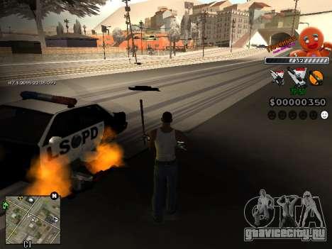 C-HUD Печенька для GTA San Andreas третий скриншот