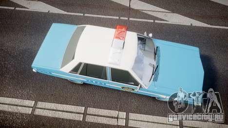 Ford Fairmont 1978 Police v1.1 для GTA 4 вид справа