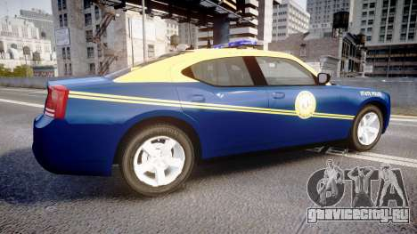Dodge Charger West Virginia State Police [ELS] для GTA 4 вид слева