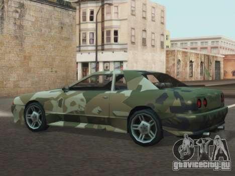 Elegy GTR для GTA San Andreas вид справа