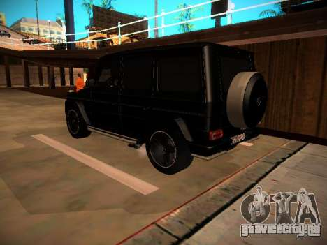 Mercedes-Benz G500 Bluetec 2014 для GTA San Andreas вид справа