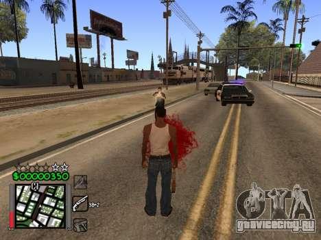 Classic C-HUD 3.4 by Niko для GTA San Andreas третий скриншот