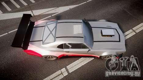 Declasse Sabre GT-R для GTA 4 вид справа