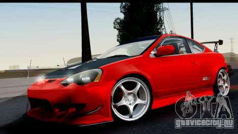 Honda Integra Type R Time Attack HQLM для GTA San Andreas