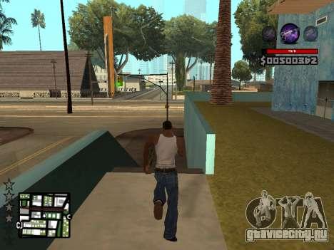 C-HUD by Granto для GTA San Andreas четвёртый скриншот