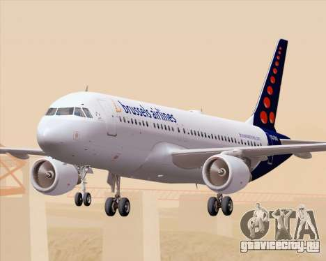 Airbus A320-200 Brussels Airlines для GTA San Andreas салон
