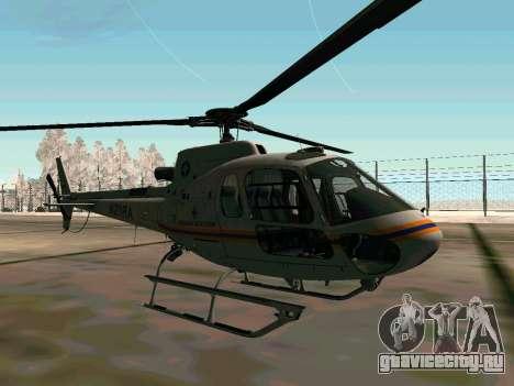 Bo 105 МЧС России для GTA San Andreas вид справа