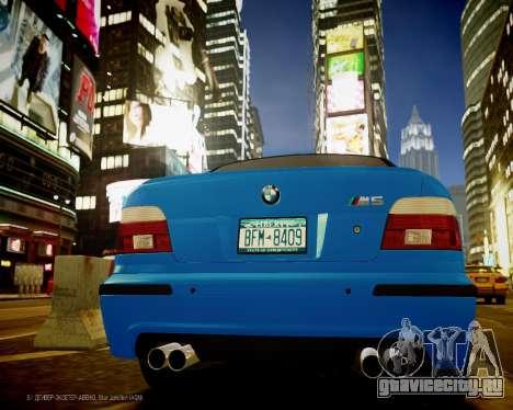 BMW M5 E39 для GTA 4 вид справа