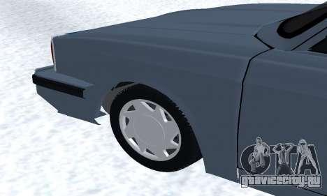 Peykan Separ Joshan 1600 для GTA San Andreas салон