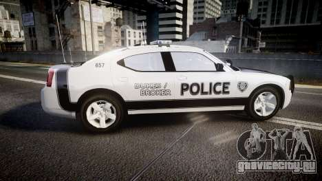 Dodge Charger 2006 Sheriff Dukes [ELS] для GTA 4 вид слева