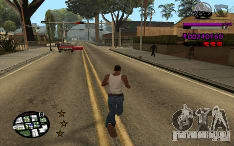 C-HUD by LoMoKo для GTA San Andreas второй скриншот