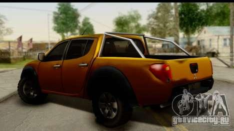 Mitsubishi L200 Triton v1.0 для GTA San Andreas вид слева