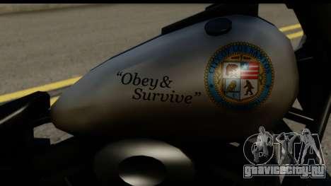 Police Bike GTA 5 для GTA San Andreas