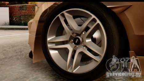 Ford Shelby GT500 RocketBunny для GTA San Andreas вид справа