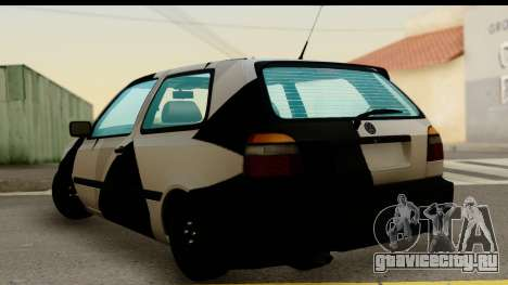 Volkswagen Golf 3 для GTA San Andreas вид слева
