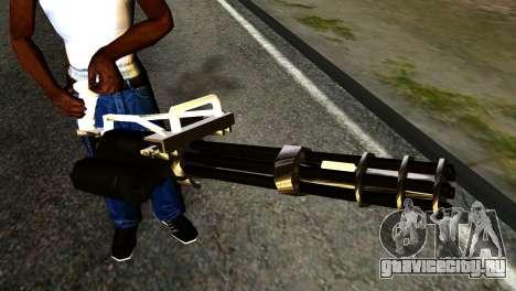 New Minigun для GTA San Andreas третий скриншот