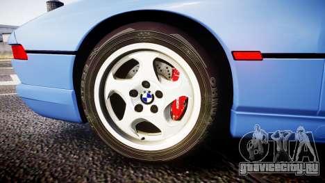 BMW E31 850CSi 1995 [EPM] для GTA 4 вид сзади