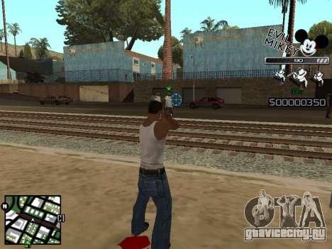 C-HUD Evil Mickey для GTA San Andreas