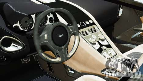 Aston Martin One-77 2010 [EPM] для GTA 4 вид сзади слева