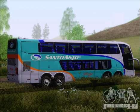 Marcopolo Paradiso G6 1800DD 8x2 SCANIA K420 для GTA San Andreas вид сзади