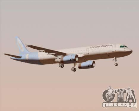 Airbus A321-200 Vorona Aviation для GTA San Andreas