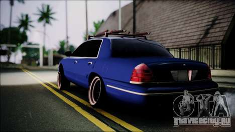 Ford Crown Victoria Stance Nation для GTA San Andreas вид слева