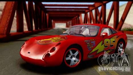 TVR Tuscan S 2001 для GTA San Andreas вид изнутри