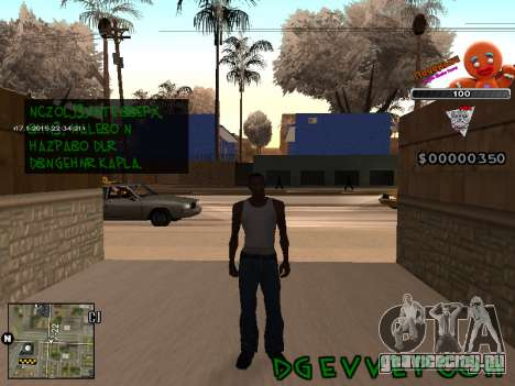 C-HUD Печенька для GTA San Andreas второй скриншот