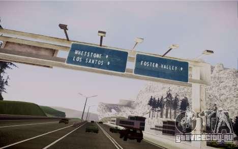 Fourth Road Mod для GTA San Andreas шестой скриншот