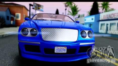 GTA 5 Enus Cognoscenti Cabrio для GTA San Andreas