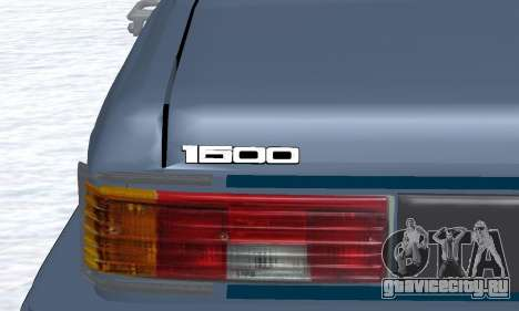 Peykan Separ Joshan 1600 для GTA San Andreas вид сбоку