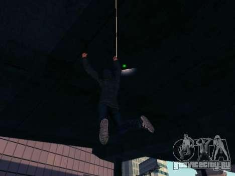 Spiderman Swinging v2.1 для GTA San Andreas четвёртый скриншот