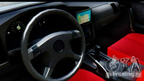 Opel Combo Delta Garage для GTA San Andreas вид сзади