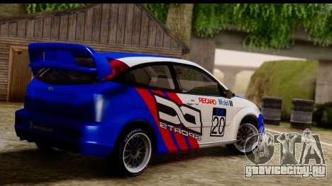 Ford Focus для GTA San Andreas вид слева