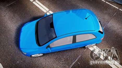 Volkswagen Gol G6 iTrend 2014 rims2 для GTA 4 вид справа